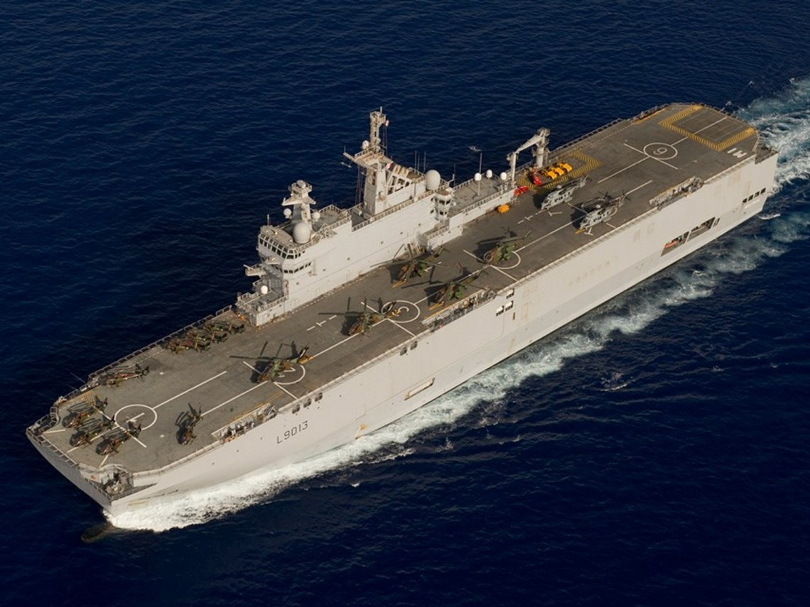 Was The Mistral Warship Designed To Attack Israel!