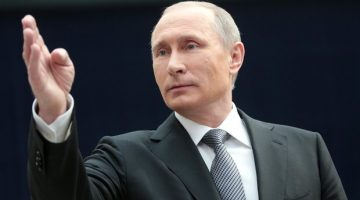 Breaking : President Putin Challenges Obama's Assertion as the Strongest Nation